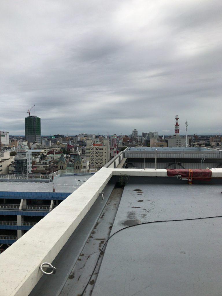 屋上の眺望