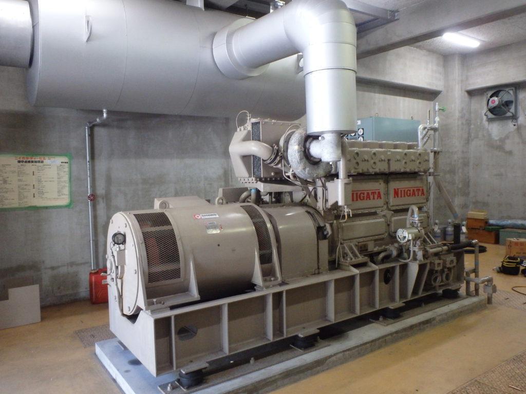 発電機一体 発電機・エンジン・ベース